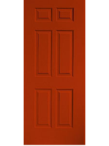 Image of Narrow 6 Panel Standard Definition Door rendering by Samuel Stamping