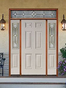 Image of 6 Panel High Def Door Exterior Image from Samuel Stamping